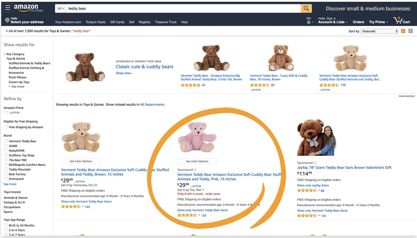 amazon advertising